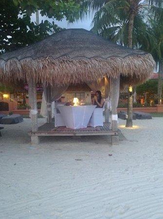 Casa del Mar, Langkawi: private dinner