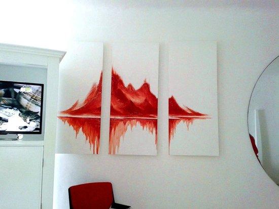 Bel Air Collection Resort & Spa Cancun: el maravilloso cuadro de sangre en el cuarto