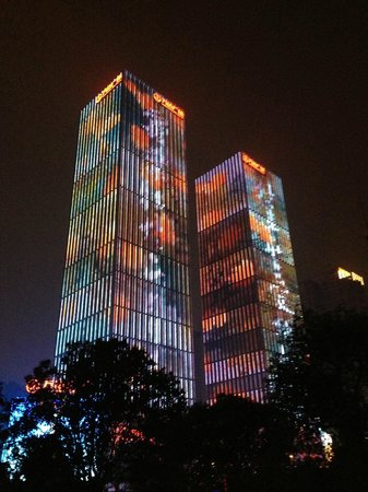 Wanda Vista Changsha: from the river