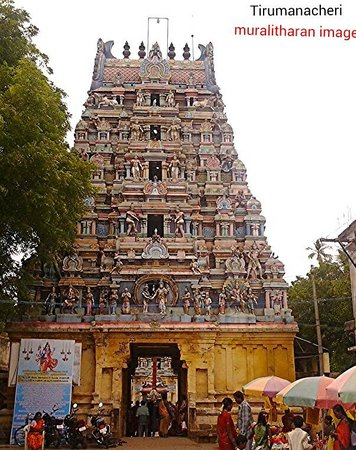 Thirumananjeri Temple: Marriage speeding temple-Muralitharan photo