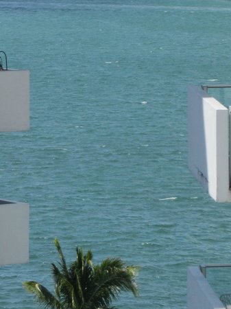 Mondrian South Beach Hotel: vista dalla camera