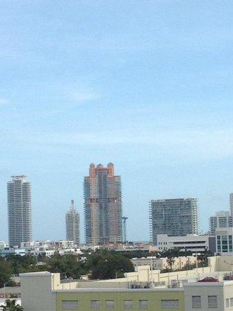 Mondrian South Beach Hotel: vista dalla camera