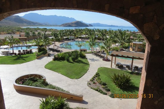 Villa del Palmar Beach Resort & Spa at The Islands of Loreto: View from our balcony