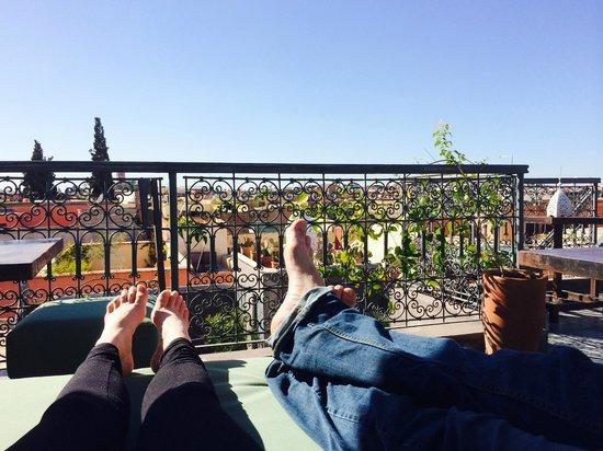Riad Dar Thania : Aaaahhhhh! Roof top view