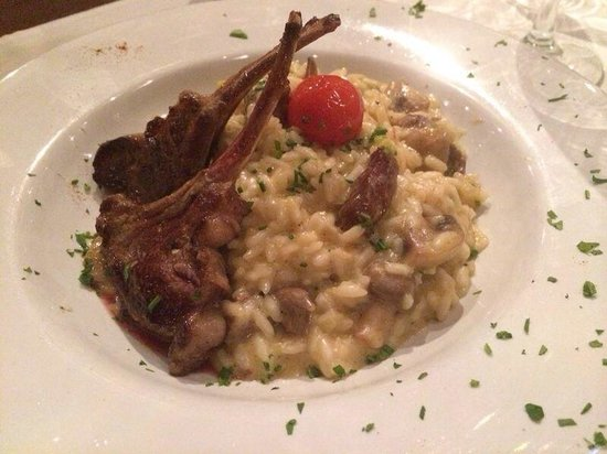 Francis Restaurant: Risoto divino de cordeiro com champignon