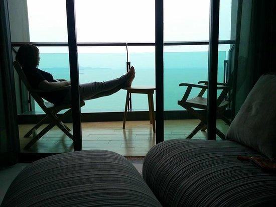 Cape Dara Resort : Nice balcony