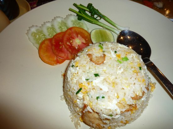 The Imperial River House Resort: 鳥炒飯