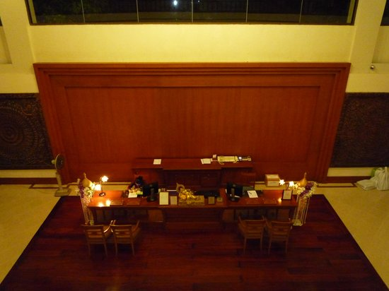 The Imperial River House Resort: ロビーレセプション
