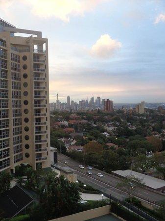 Meriton Suites Bondi Junction: View from LR window