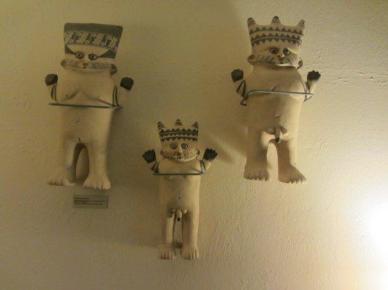 Casa Andina Premium Miraflores: Interesting Inca wall decorations