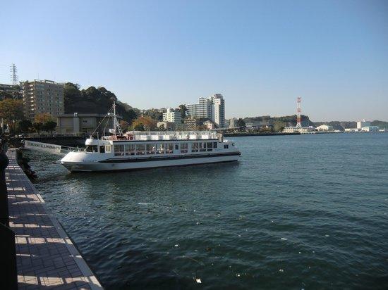 Yokosuka Gunko Meguri: 遊覧船