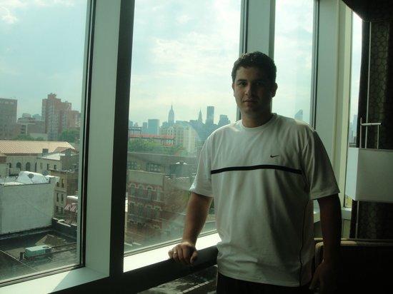 Holiday Inn L.I. City - Manhattan View: Vista do quarto em direção à Manhattan.