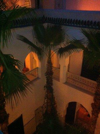 Riad Vert Marrakech: vue de la terrasse
