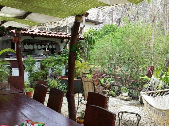 Casa Tortuga: Varanda