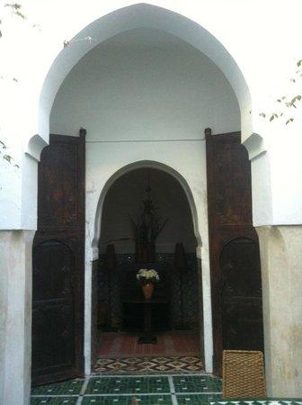 Riad Vert Marrakech: rez de chaussée Riad vert