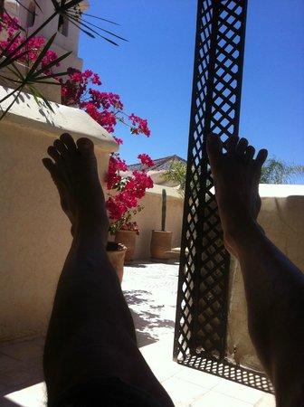 Riad Vert Marrakech: au frais sous la pergola en mode zen