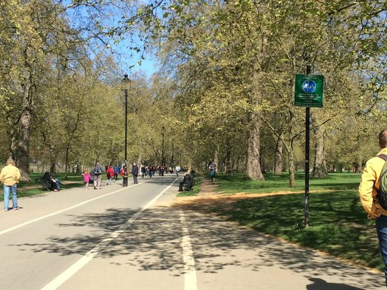 Hyde Park : Joggers