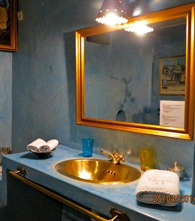 Riad Aloes: Salle de bain