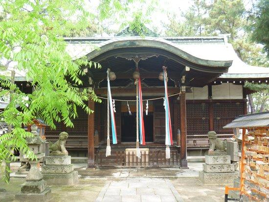 Takaishi Shrine: 本殿