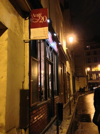 L'Ange 20 Restaurant : outlook
