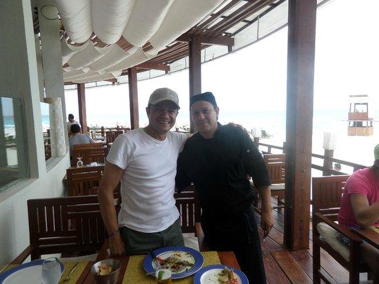 ME Cancun: EL CHEF LA MEJOR COMIDA