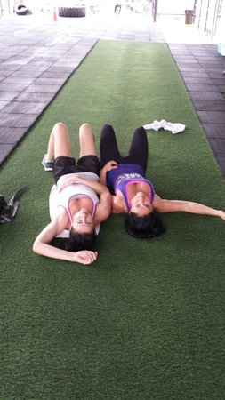 Unit 27 Total Conditioning & CrossFit Gym: After a sesh!