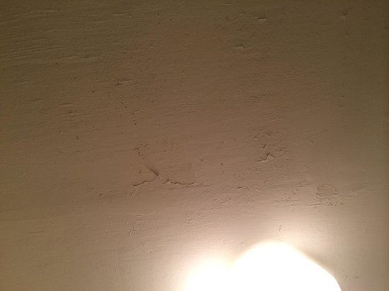 Mountain View Inn : Water damage to ceiling