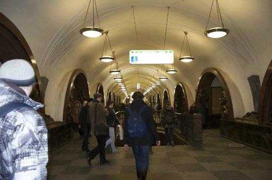 Metropolitana di Mosca: metro