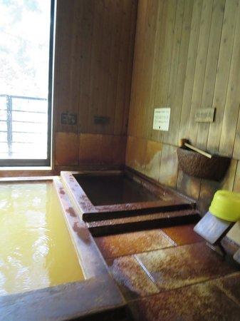 Kaminoyu: 飲泉と冷鉱泉