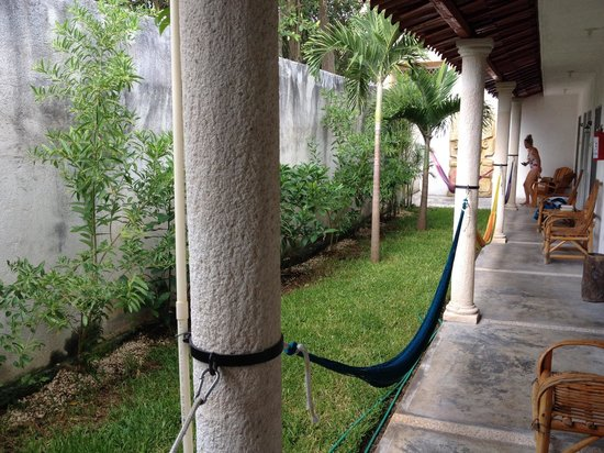 Tulum Naa Studios: Outside to relax