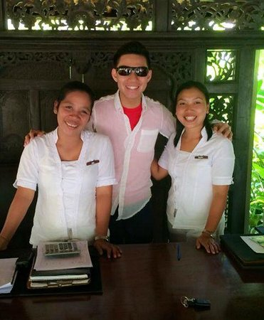 Kayumanis Ubud Private Villa & Spa: The friendly staff !