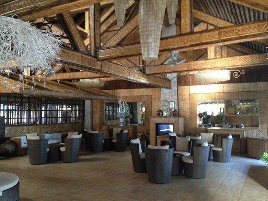 Matabungkay Beach Resort & Hotel : reception