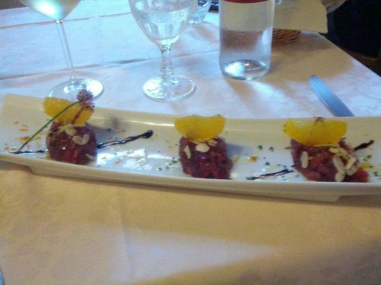Hostaria Le Repubbliche Marinare: tuna tartar