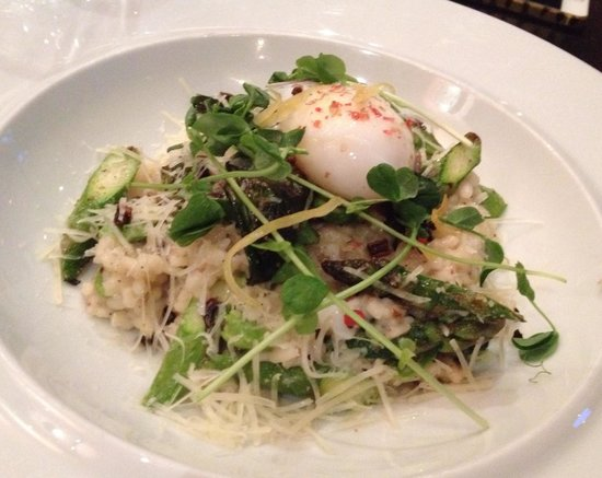 The Hotel Donaldson: Risotto with poached egg