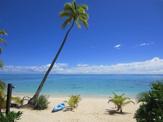 Tamanu Beach: beach front