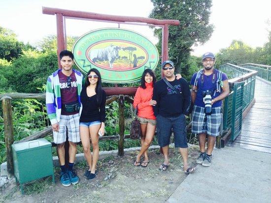 Mara Leisure Camp: Safari Entrance