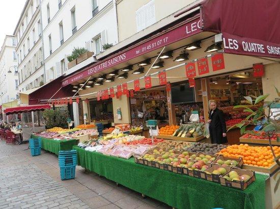 Rue Cler : Fruits