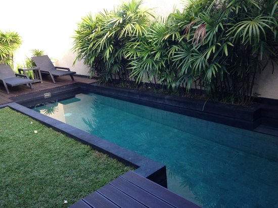 Anantara Vacation Club Bali Seminyak : The private pool