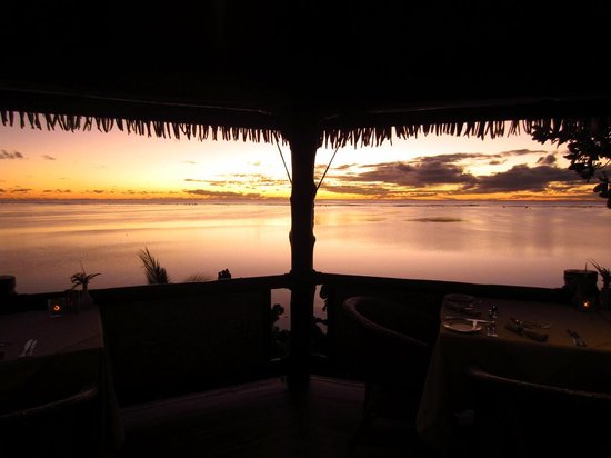Rapae Bay Restaurant: stunning view