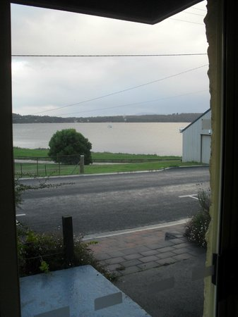 Smugglers Rest : View through front sliding doors, 2 br apartment