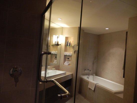 Hilton Hua Hin Resort & Spa : Suite Bathroom (taken from the shower)