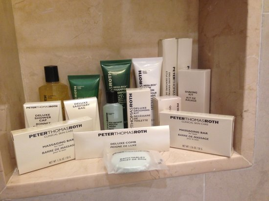 Hilton Hua Hin Resort & Spa : Amenities in the Bathroom
