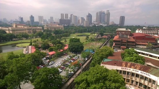 The Bayleaf Intramuros: View from Skydeck