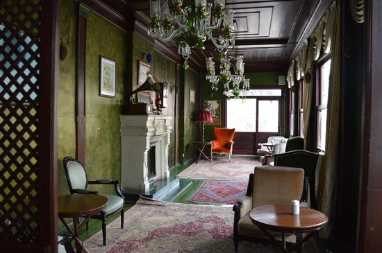 Galata Konak Cafe: Interior