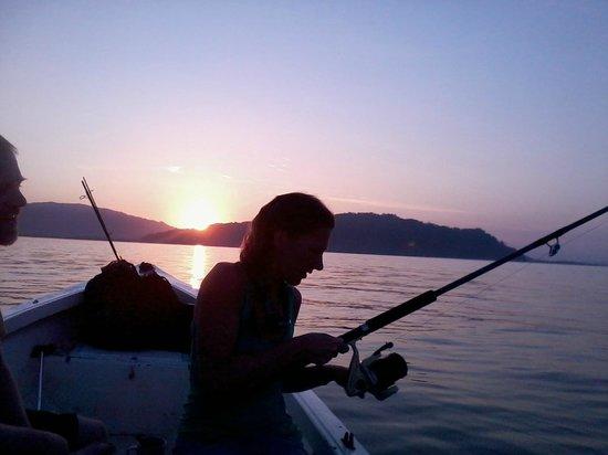 Ka'Kau Jungle Cabinas: sunrise fishing trip