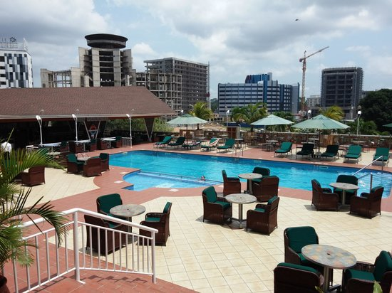 Holiday Inn Accra Airport: HI hotel pool
