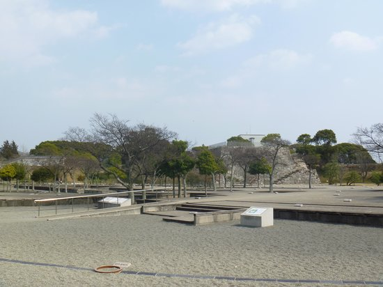 Remains of Ako Castle: 本丸内