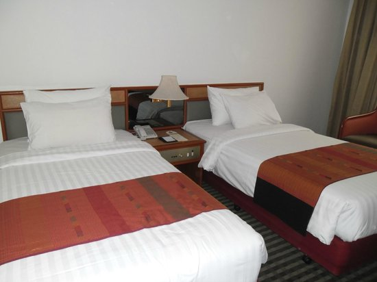 The Imperial Mae Ping Hotel : Bedding