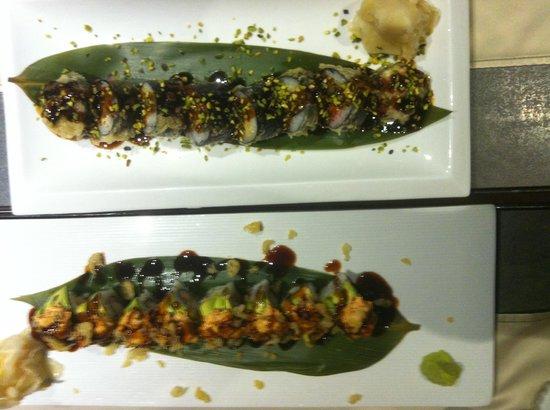 Caparena Sushi & Wine: Buonissimi...oltre che bellissimi!!!