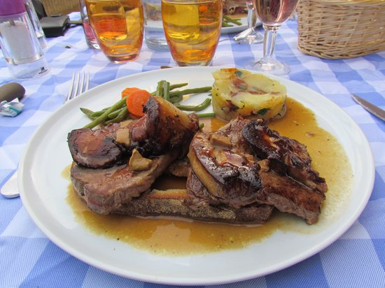 ‪‪Marquay‬, فرنسا: tournedos rossini‬